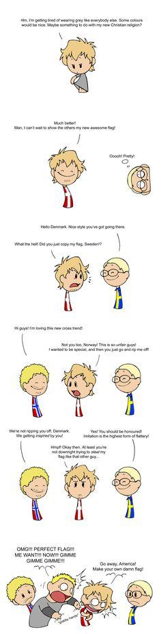 Cross Trend Scandinavia And The World---Awesome webcomic!