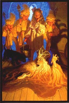 THE WICKED WITCH MELTS - WIZARD OF OZ - BY GREG HILDEBRANDT