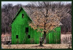 A Little Green Barn