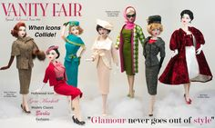 Gene Marshall in models classic Barbie fashions ~ Image and styling by Tom Logan ~ The Studio Commissary
