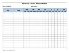 Restaurant Task List  Restaurant Bathroom Cleaning Checklist Enchanting Bathroom Cleaning Schedule 2018