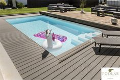 Even unicorns like POOLAR: Let design & safety meet in your garden! Sliding poolcover and terrace all in one. Custommade in Austria. Unsecured Credit Cards, Outdoor Pool, Outdoor Decor, Austria, Elegant, Beautiful, Unicorns, Celebration, Friendship
