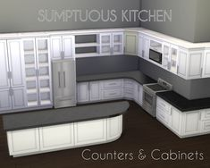 Big, lovely kitchen set!