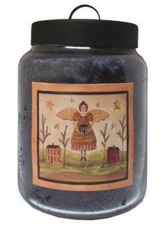 BLUEBERRY Goose Creek Candle 26 oz Folk Art Jar