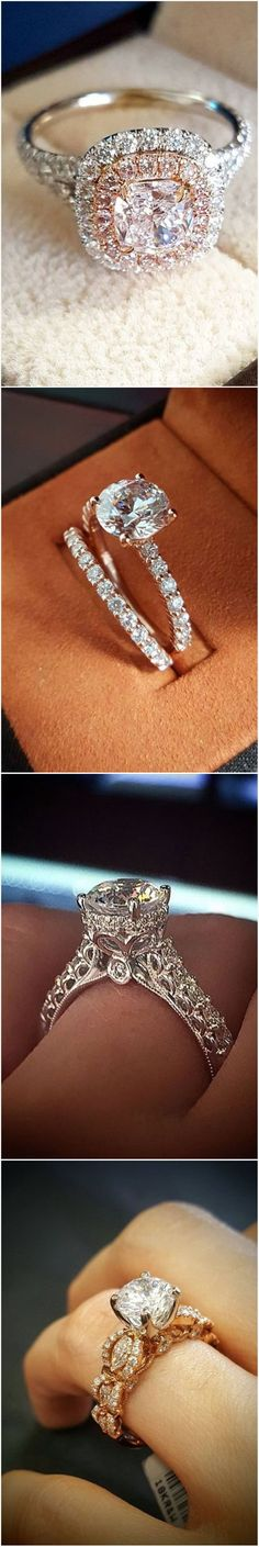Stunning #engagementrings @diamondmansion
