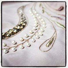 Beginners Couture Beading Evening Course (Tambour) - LondonEmbroidery School