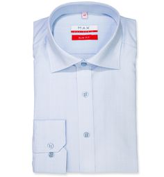 Slim Fit priliehavá košeľa Bledomodrá jednofarebná 100% bavlna Popelín (plátno) Leto, Slim, Shirt Dress, Fitness, Mens Tops, Shirts, Dresses, Fashion, Vestidos