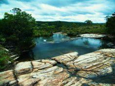Cachoeira Esmeralda -  Carrancas  - MG - Brazil