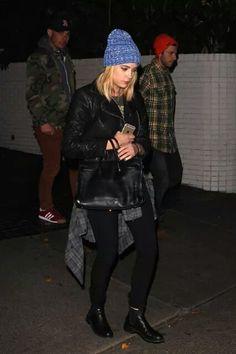 I love her fashion style ♥ Ashley Benson, Love Her, Bomber Jacket, Hipster, Punk, Jackets, Style, Fashion, Down Jackets