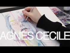 Skies On Fire - Speed Painting The Green Children - YouTube