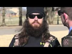 Jase Robertson from AETVs Duck Dynasty shares about his faith in Jesus Christ during an interview with Oklahoma Christian University.