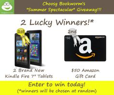 Summer Spectacular Giveaway for Book Lovers!  :-)