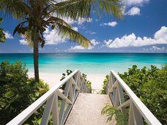 With your bikini brazil at Barnes Bay, Anguilla