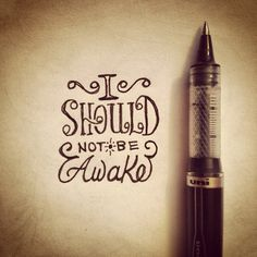 """""""1:41 AM"""" __ Hand Lettering by [ts]Christer"""