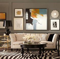 Ideas Wall Art Behind Sofa