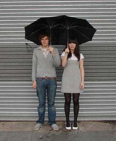 Guarda-chuva para namorados
