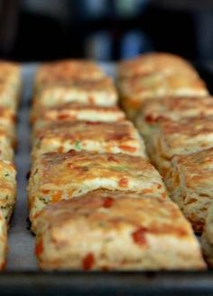 New Year's Day Brunch with Cheddar and Chive Scones - The Noshery