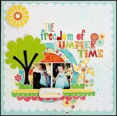 The freedom of summertime, Introducing Echo Park - Janine Koczwara