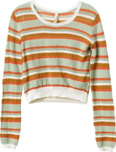 Splashed Cropped Sweater | RVCA