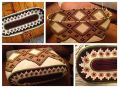 piZap by Manon Tunisian Crochet, Diy Crochet, Crochet Crafts, Crochet Projects, Tapestry Crochet Patterns, Crochet Stitches Patterns, Crochet Handbags, Crochet Purses, Crotchet Bags