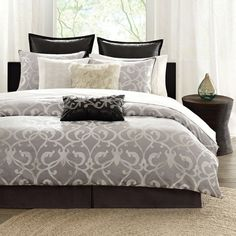 I pinned this Landau King Comforter Set from the Design Report event at Joss & Main!