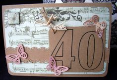 Forty and Fabulous card