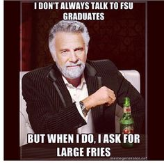 FSU vs UF humor