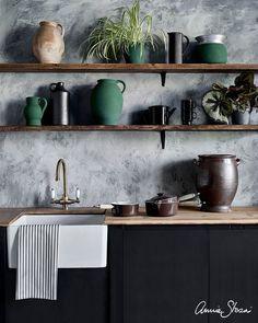 Zara Home, Wall Trellis, Using Chalk Paint, Painting Kitchen Cabinets, Annie Sloan Chalk Paint Kitchen Cabinets, Plaster Walls, Vinyl Plank Flooring, Kitchen On A Budget, Kitchen Ideas