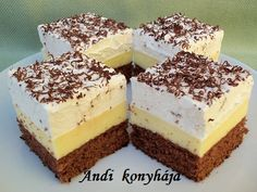 Köstliche Desserts, Sweets Recipes, Gourmet Recipes, My Recipes, Delicious Desserts, Cakes To Make, How To Make Cake, Sweet Cookies, Yummy Cookies