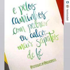 @textosdati me deu a alegria de ilustrar sua frase. Obrigado  #frasedodia #frases #quotes #trechos #escritos #maolivre #caligrafia #santos #freehand #calligraphy #design #art #style #sketch #handtype #type #typespire #goodtype #inspiration #lettering #typism #typography #tyxca #calligritype #handmadefont #typostrate #thedailytype #scriptart #font