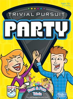Trivial Pursuit Party cover (Hasbro)