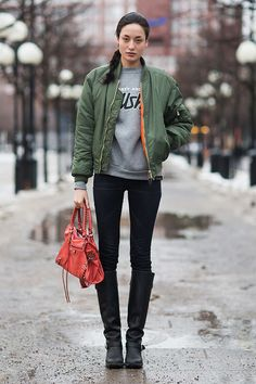 Trend Report: Bomber Jacket | Popbee - a fashion, beauty blog in Hong Kong.