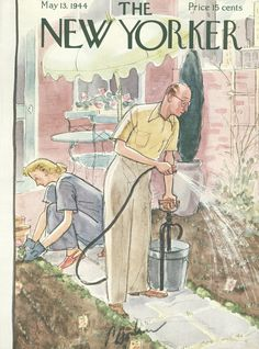 The New Yorker - Saturday, May 13, 1944 - Issue # 1004 - Vol. 20 - N° 13 - Cover by : Perry Barlow