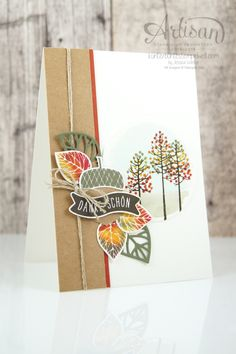 Stampin´ Up! - Wald der Worte - Thoughtful Branches - Artisan Blog Hop - 20