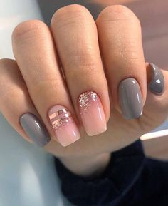 Фотография Best Acrylic Nails, Acrylic Nail Designs, Matte Nails, Nail Art Designs, Hair And Nails, My Nails, Overlay Nails, Dream Nails, Nagel Gel