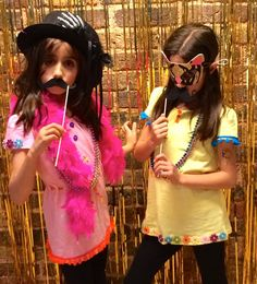 #Kids #Fashionista #Birthday #Party with our very own #DIY #photo #booth!