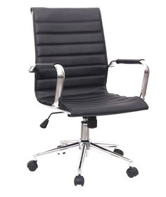 Hi Back Modern Executive Leather Office Chair Pf 612 Bk Products Pinterest Chairs And Offices