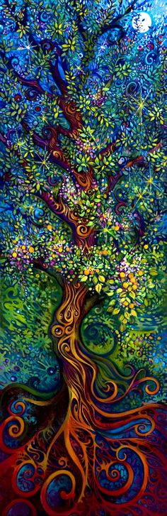 """#Tree of #Life: """"To me, it represents growth and the constant organic movement…"""