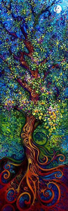 Colores que germinan de la tierra.
