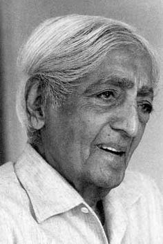 """The constant assertion of belief is an indication of fear."" – Jiddu Krishnamurti"