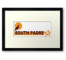 South Padre Island Framed Print