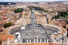 Piazza San Pietro. Vatican City - Just a click/Getty Images