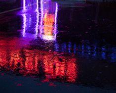 The Beauty Of Rainy Nights in Urban Environments Rainy Night, Night Time, Rainy City, Northern Lights, Neon Signs, Urban, Memories, Nice, Travel