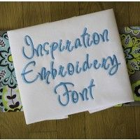 Inspiration Embroidery Font Machine Embroidery Designs by JuJu