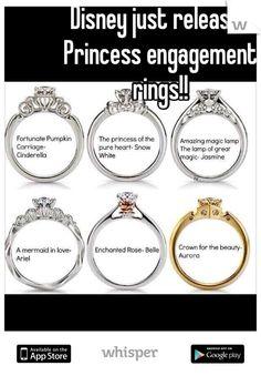 Princess rings. omg.