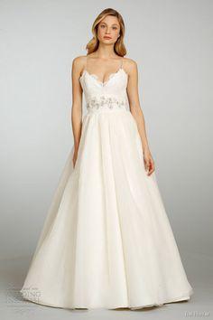 jim hjelm bridal spring 2013 ball gown alencon lace bodice 8303
