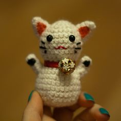 I'm gonna make a maneki amineko next!