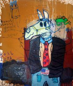 humpti dumpti DONALD donkey bear – Peter Kohl