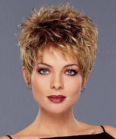 Image result for short spikey hairstyles for women over 40-50
