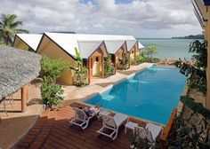 Moorings Hotel Located directly on the Harbour in Port Vila and 10 minutes away… Travel Specials, Vanuatu, South Pacific, Travel Agency, Beautiful Islands, Resorts, Oasis, Travel Inspiration, Sydney